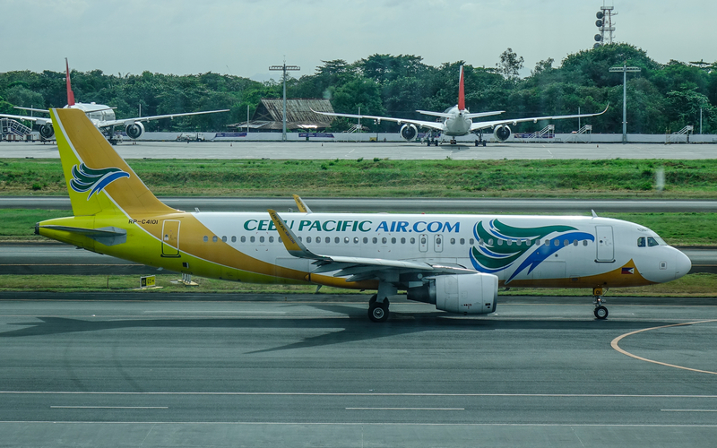 MNL Airport is a hub for Cebu Pacific.